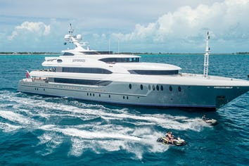 Luxury charter yacht SOVEREIGN