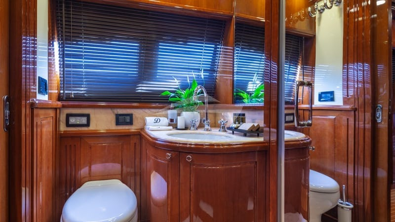 Motor Yacht Divine Guest Cabin WC