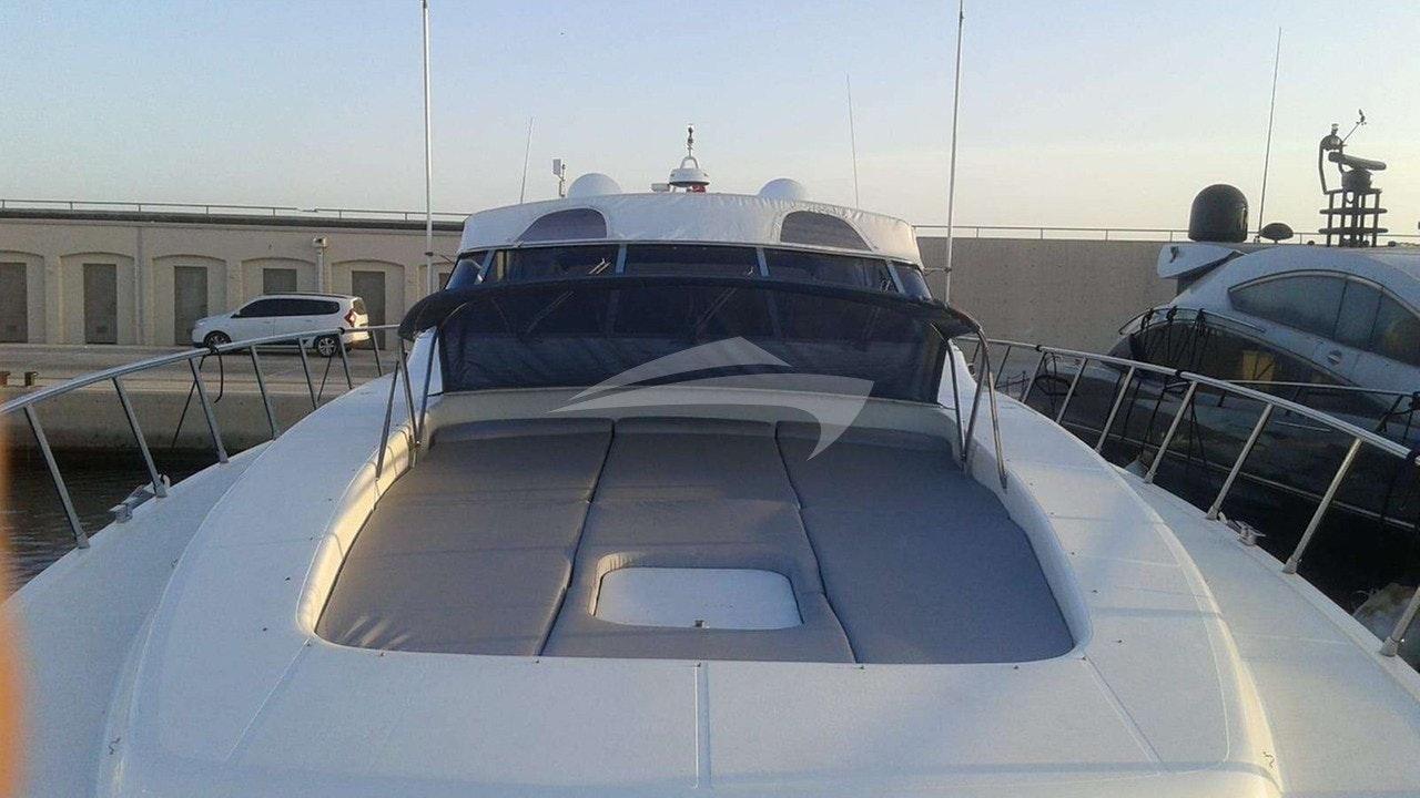 前甲板日光浴垫