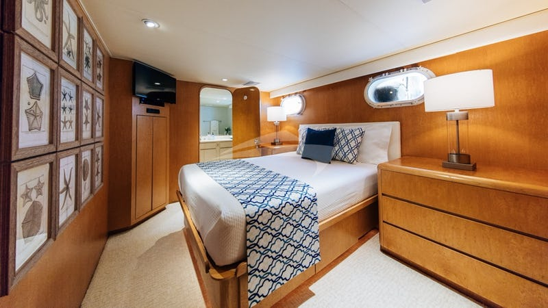 VIP Stateroom #1 with ensuite bathroom