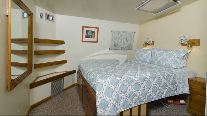 One of the queen guest suites (Cabin #1)