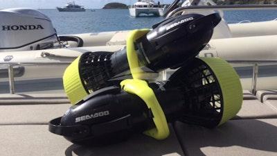 SeaDoo offre un grande divertimento subacqueo