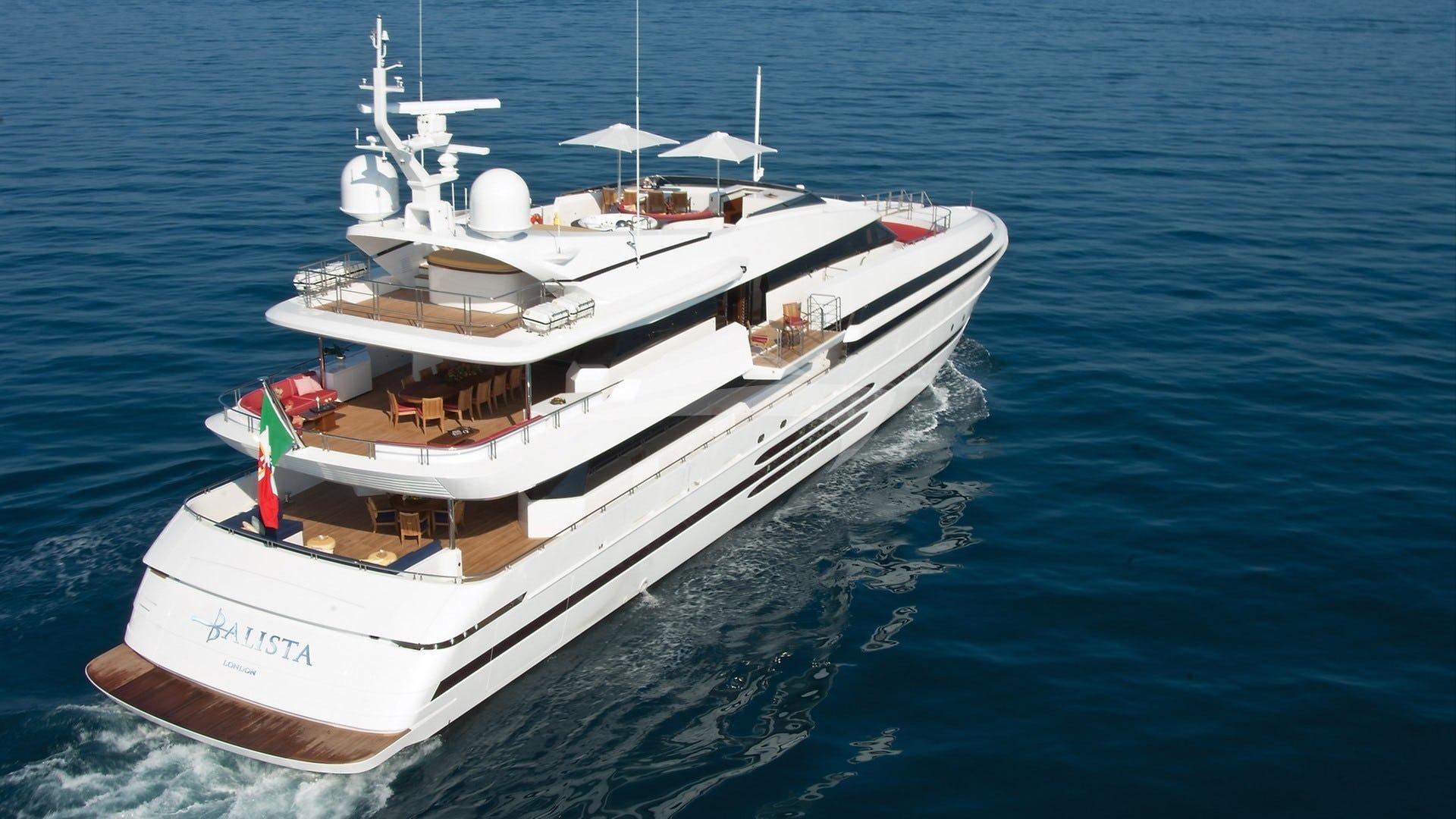 Yacht BALISTA Charter Yacht
