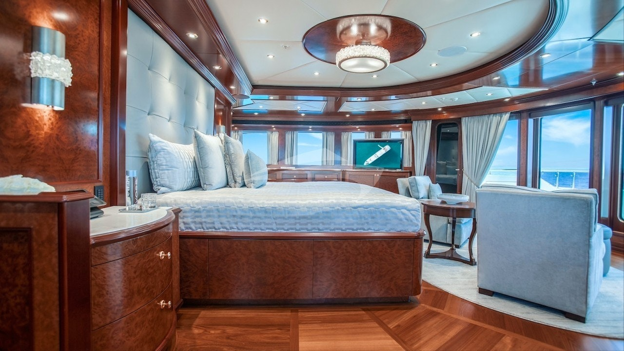 Owner's stateroom-view to port