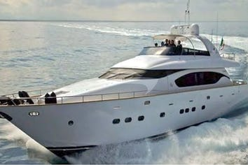 Luxury charter yacht NEVER ONE