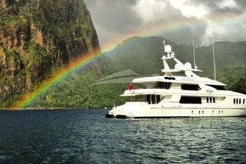Luxury charter yacht ALLEGRIA