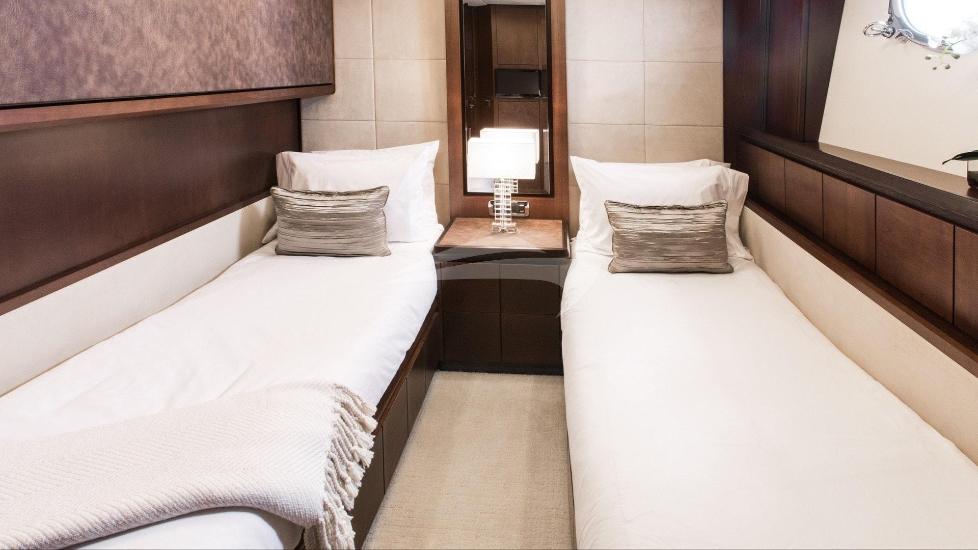Twin Guest Suite Below